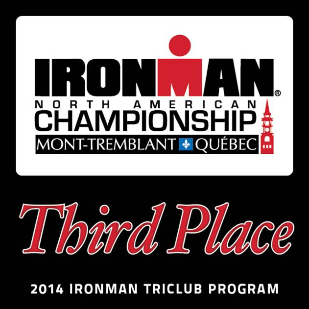 Ironman Mont-Tremblant Third Place