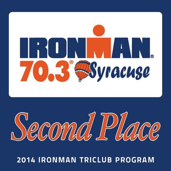 Ironman Syracuse Second Place
