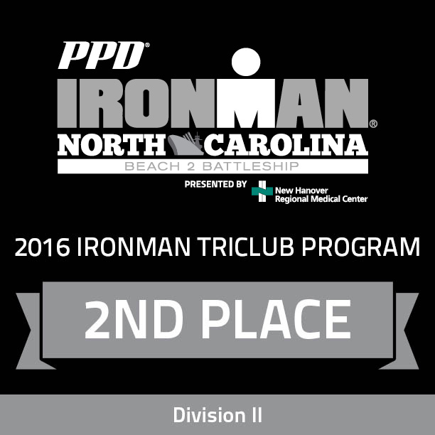 Ironman Raleigh Third Place